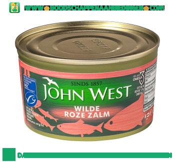 John West Wilde roze zalm aanbieding