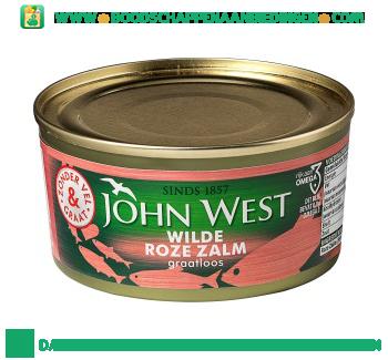 John West Wilde roze zalm graatloos aanbieding