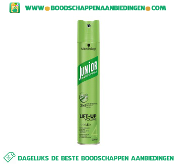 Junior Hairspray lift up volume aanbieding