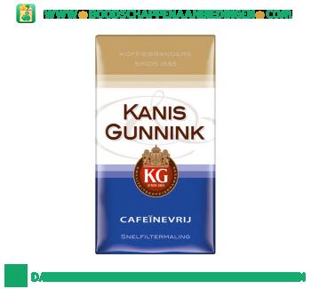 Kanis & Gunnink Cafeinevrij snelfiltermaling aanbieding