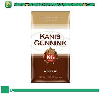 Kanis & Gunnink Koffie snelfiltermaling aanbieding