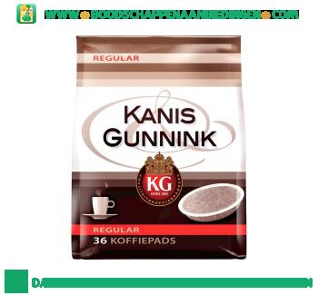 Kanis & Gunnink Koffiepads aanbieding