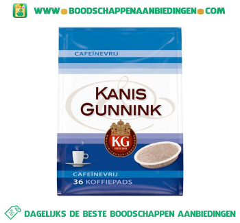 Kanis & Gunnink Pads aanbieding