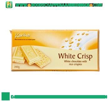Karina Chocoladereep witte crisp aanbieding