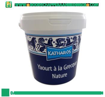 Katharos Yoghurt Griekse stijl naturel aanbieding