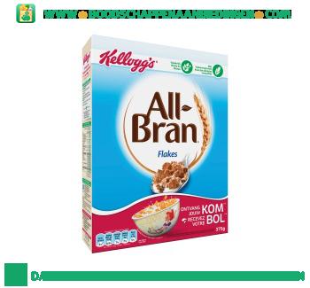 Kellogg's All-Bran flakes aanbieding