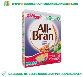 All-Bran fruit'n fibre aanbieding