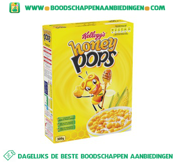 Kellogg's Honey pops aanbieding