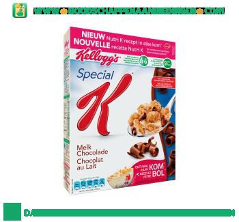 Special K melk chocolade aanbieding