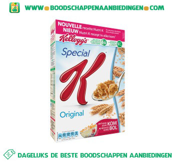 Kellogg's Special K original aanbieding