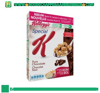 Special K pure chocolade aanbieding