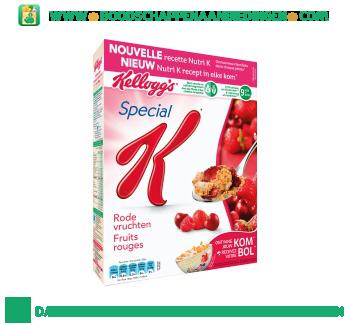 Kellogg's Special K rode vruchten aanbieding