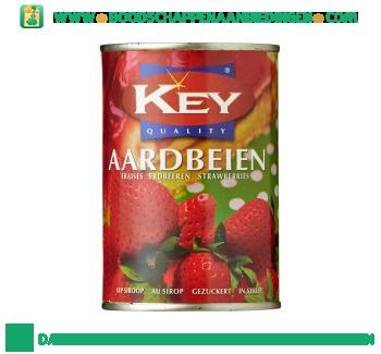 Key Aardbeien op siroop aanbieding