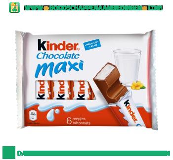 Kinder Chocolade maxi aanbieding