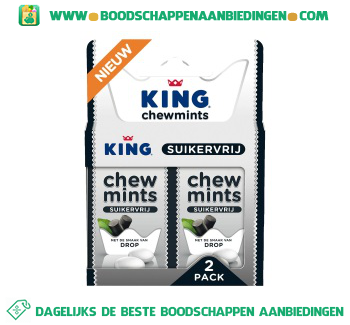 King Chewmints drop aanbieding