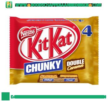 KitKat Chunky double caramel 4-pak aanbieding