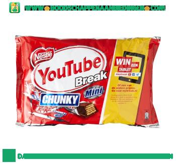 KitKat Chunky mini aanbieding