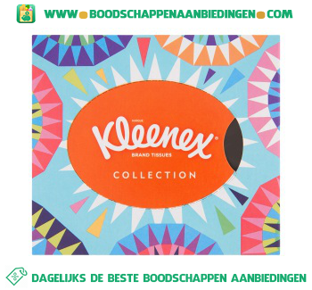 Kleenex Tissues collection aanbieding