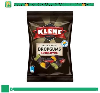Klene Drop & fruit dropgums suikervrij aanbieding