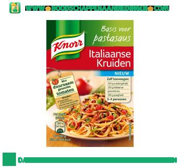 Knorr Basis voor pastasaus Italiaanse kruiden aanbieding