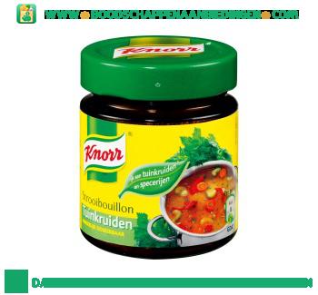 Knorr Bouillon Met Tuinkruiden aanbieding