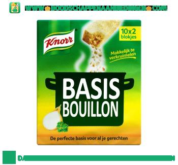 Knorr Bouillon basis aanbieding