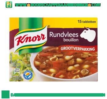 Knorr Bouillon rundvlees aanbieding
