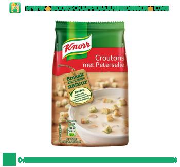 Knorr Croutons met peterselie aanbieding