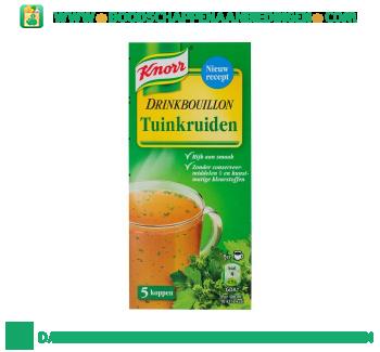 Knorr Drinkbouillon tuinkruiden aanbieding