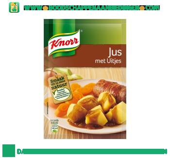 Knorr Jus met uitjes aanbieding