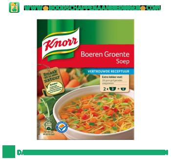 Knorr Mix Boeren Groenten aanbieding