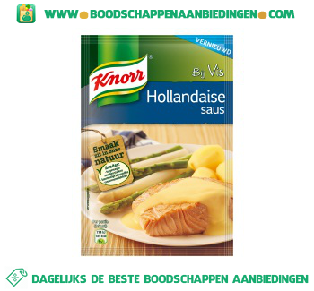 Knorr Mix Hollandaise saus aanbieding