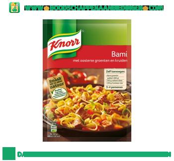 Knorr Mix bami aanbieding
