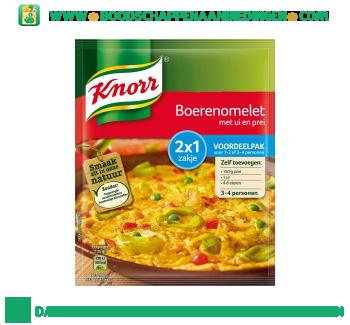 Knorr Mix boerenomelet aanbieding