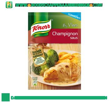Knorr Mix champignonsaus aanbieding