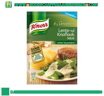 Knorr Mix lente ui knoflooksaus aanbieding