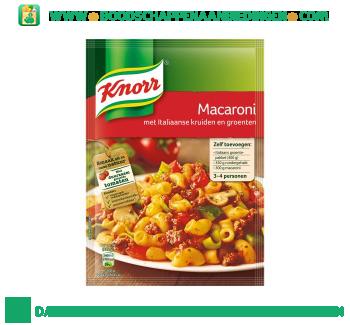 Mix macaroni aanbieding