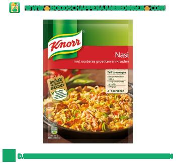 Knorr Mix nasi aanbieding