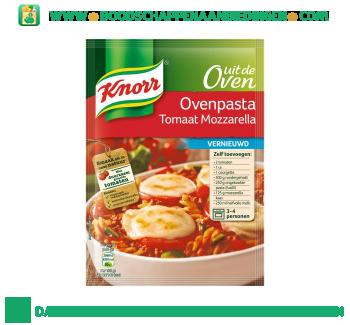 Knorr Mix ovenpasta tomaat mozzarella aanbieding