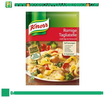 Knorr Mix romige tagliatelle aanbieding
