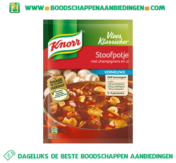 Knorr Mix stoofpotje aanbieding