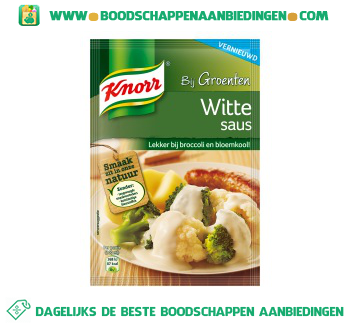 Knorr Mix witte saus aanbieding