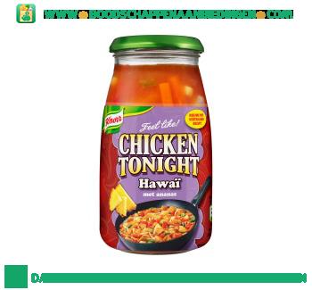 Knorr Roerbaksaus chicken tonight hawaï aanbieding