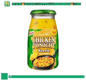 Knorr Roerbaksaus chicken tonight kerrie aanbieding