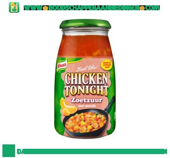 Knorr Roerbaksaus chicken tonight zoetzuur aanbieding