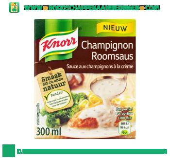 Knorr Saus champignon roomsaus aanbieding