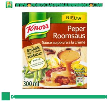 Knorr Saus peperroomsaus aanbieding
