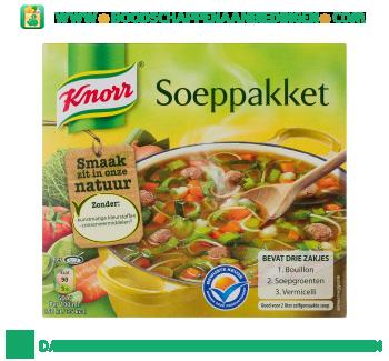 Knorr Soeppakket aanbieding