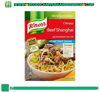 Knorr Wereldgerechten Chinese beef shanghai aanbieding
