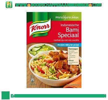 Knorr Wereldgerechten Indonesische Bami Speciaal aanbieding